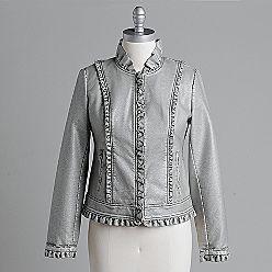 Apostrophe Women's Faux-Leather Jacket