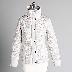 Weathercast Women's Star Quilted Coat