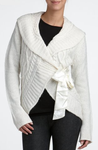Wrapped Sweater Coat