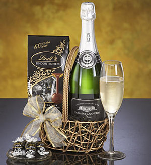 California Sparkling Wine Celebration Gift Basket