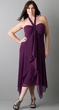 Jeweled neck halter dress
