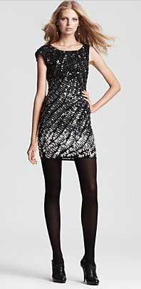 Alice + Olivia Ombre Sequined Dress