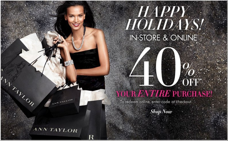 Save Big with Ann Taylor