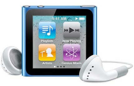 apple ipod nano 8gb 6th generation
