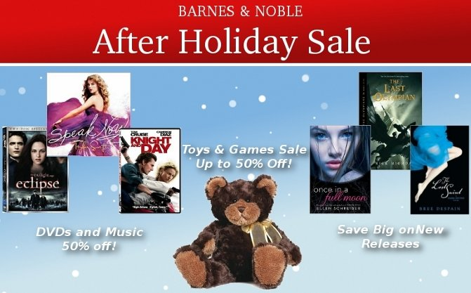 B&N After Holiday Sale