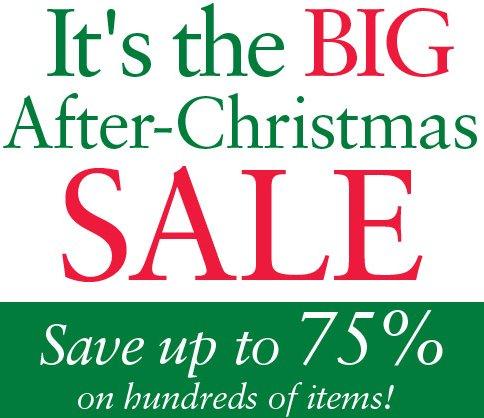 chadwicks after christmas sale