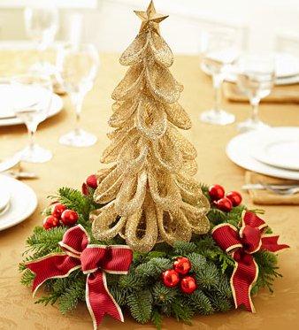 Christmas Tree Centerpiece