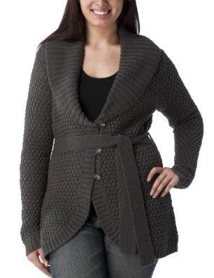 Converse One Star Gray Sweater Car Coat