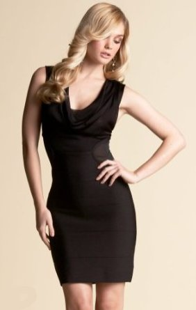 Cowl Bodycon Dress