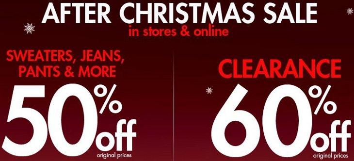 fashion bug after christmas sale