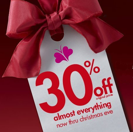 Fashion Bug Christmas offer