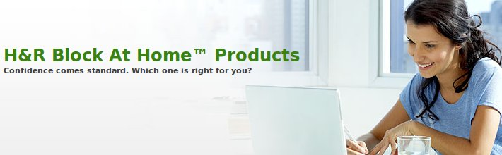 H&R Block At Home Products
