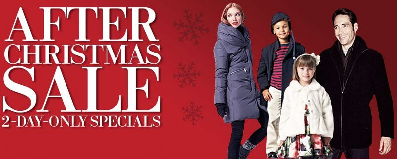 Lord and Taylor After-Christmas Sale