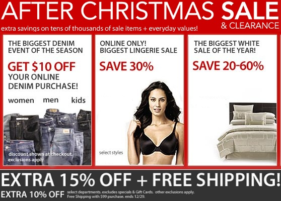 Macys After Christmas Sale