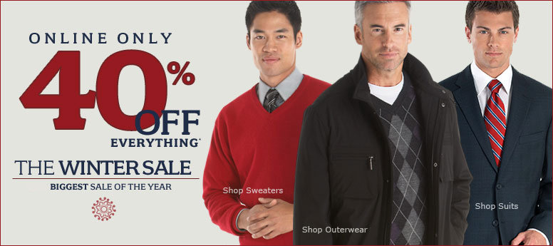 Save Big with Men's Wearhouse