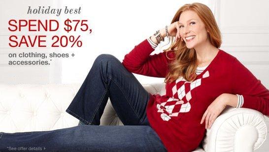 Womens' Plus-Size Merona Red/White V-Neck Argyle Sweater