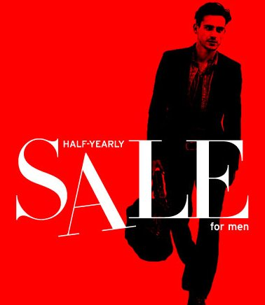 nordstorm half yearly men sale