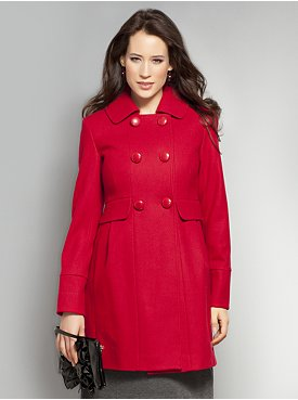 NY&C Red Wool Coat