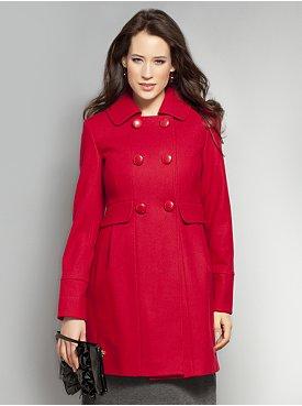 NY&C Red Wool Coat