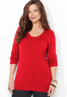 Super Soft Ribbed Neck Sweater