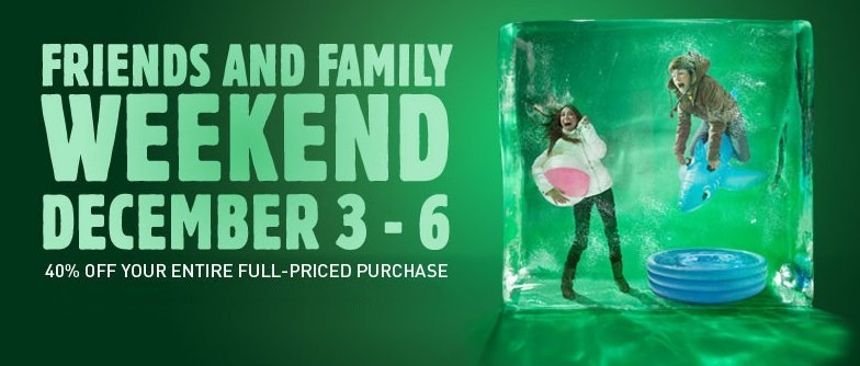Puma Friends & Family weekend