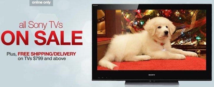 sony tvs on sale