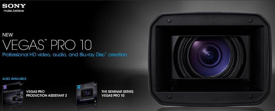 Sony vegas pro 10 windows xp