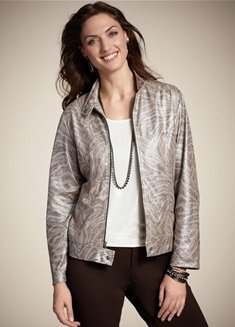 Travelers Metallic Eva Jacket