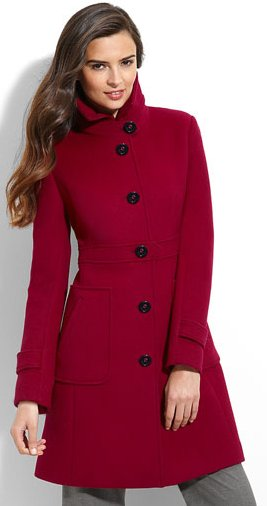 women Wool Blend Walking Coat