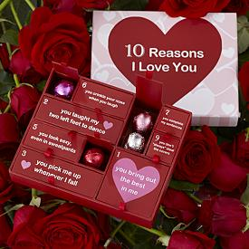 10 Reasons I Love You Truffle Box