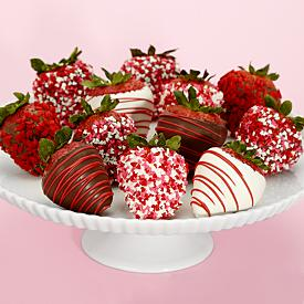 12 Hand-Dipped Valentines Berries