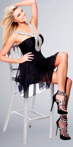 Embellished Halter Dresses by Sherri Hill