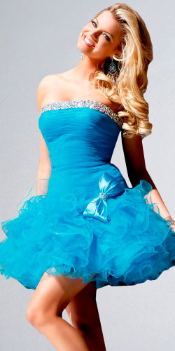Flirty Homecoming Dresses by Sherri Hill