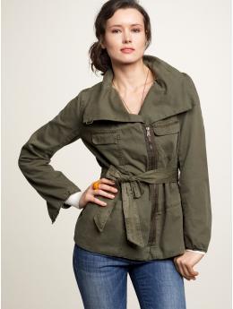 Gap belted utility jacket
