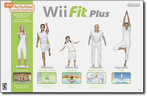 Nintendo Wii Fit Plus with Wii Balance Board for Nintendo Wii