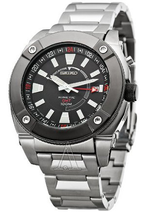 Sieko Mens Kinetic Watch