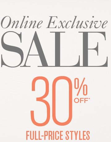Ann Taylor loft online exclusive sale