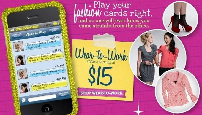 charlotte russe offer