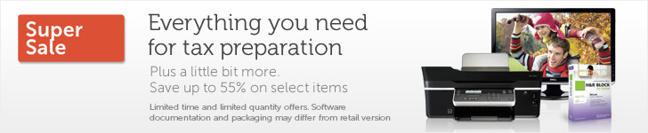 dell tax preparation sale