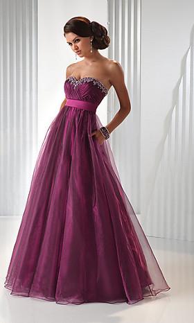 designer prom gown