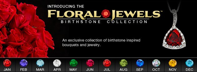 ftd floral jewels birthstone collection