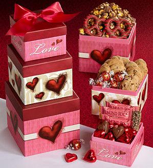 Happy Valentine's Day gift Tower