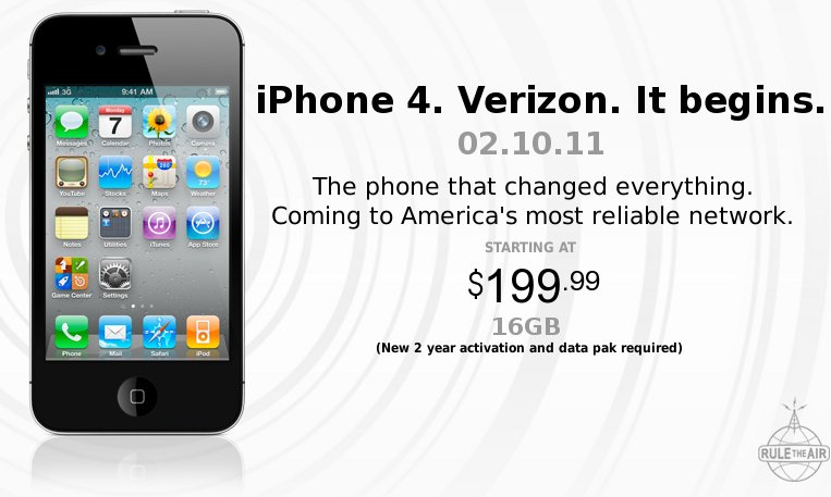 iPhone 4 at VerizonWireless