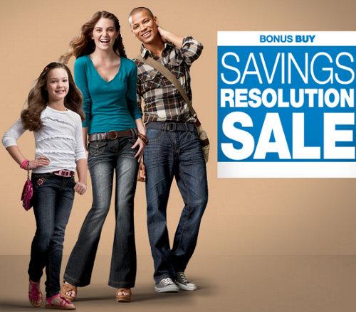 kohls savings resolution sale
