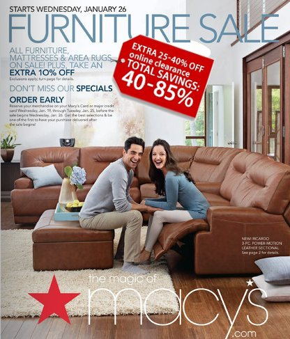 Macy's Furniture Sale