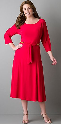 plus size valentine dress