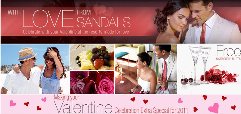 sandals valentines day special