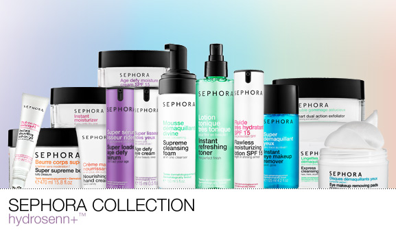 New Sephora Collection Skincare Range