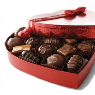 Heart Box Assorted Chocolates