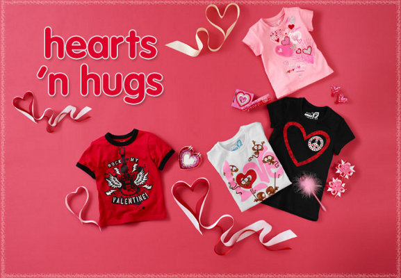 the childrens place valentines day collection